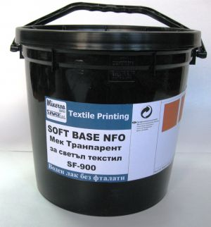 Soft Base-NFO - Мека ,транспарентна база за светъл текстил - 5 Kg.